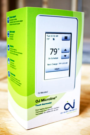 OJ Touch Screen Thermostat